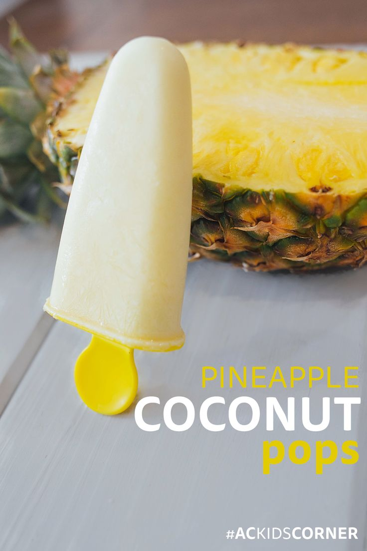 Coconut ice cream popsicles! 21 Day Fix Approved! #21dayfixextreme #21dfx