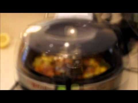 Bacon Squash T-Fal Actifry Part 3 - YouTube