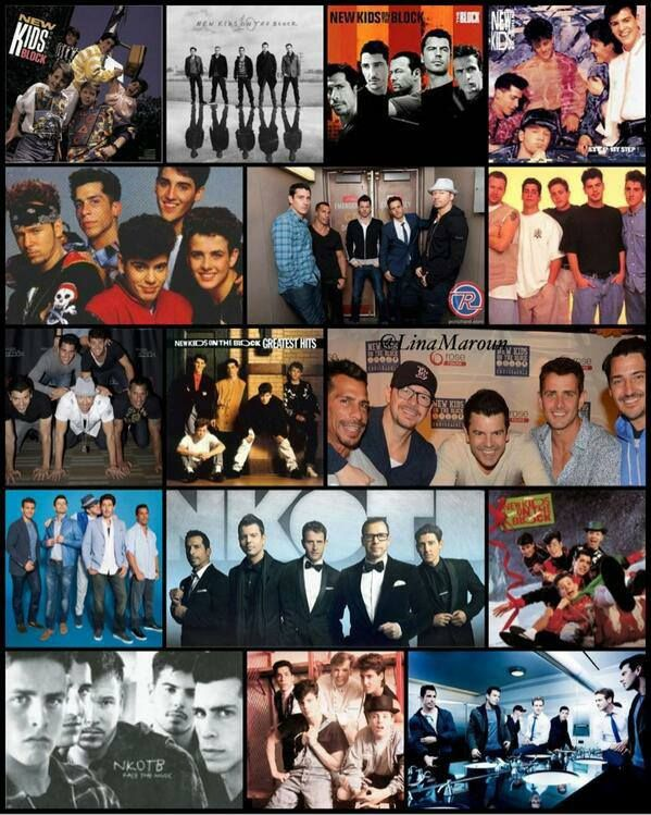 NKOTB I saw these guys twice live at age 13 and 14.