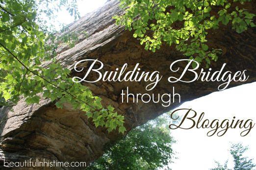 Building Bridges through Blogging