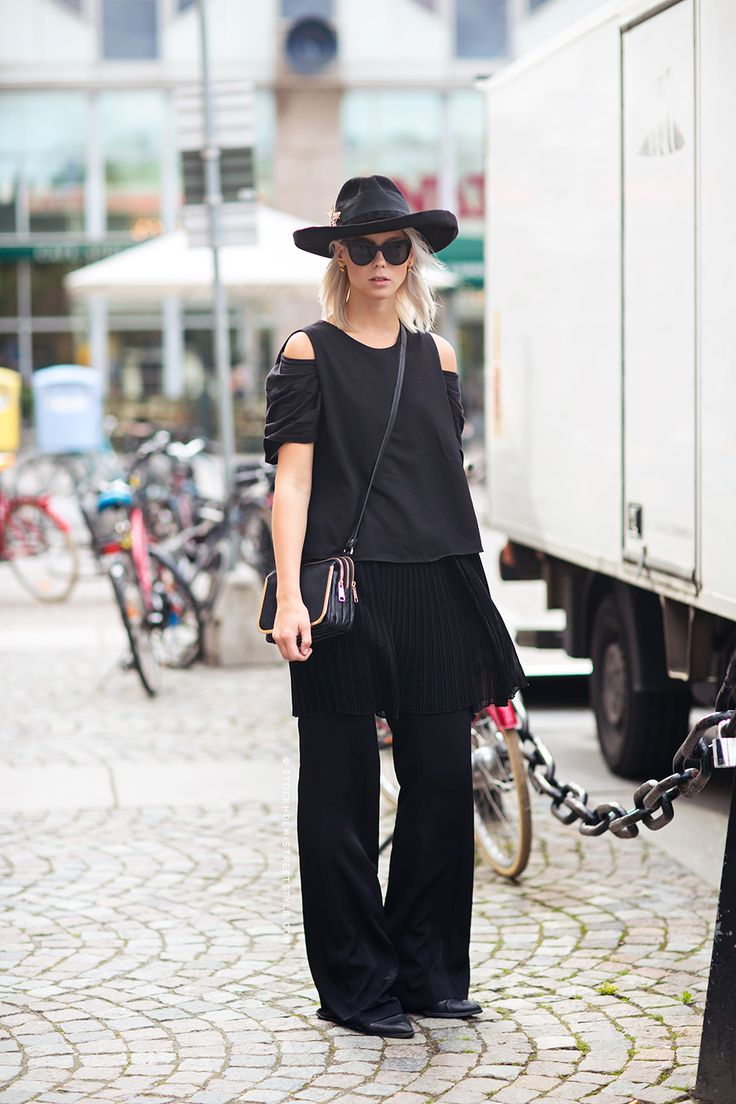 Hilda Stockholmstreetstyle 2014 Fall Winter Street Style Pinterest