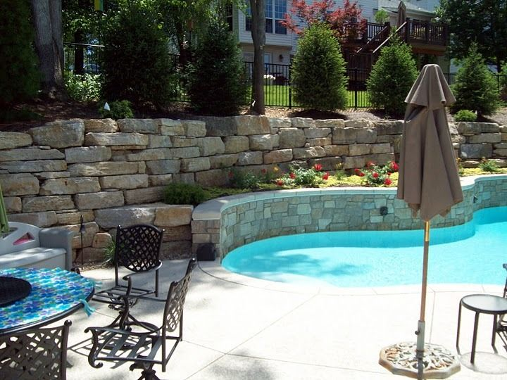 Best 25 Pool Retaining Wall Ideas On Pinterest Walk In Pool Concrete Pool And Pool Ideas