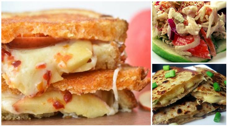 Sure, you could stick with the classics: Apple pie, apple crisp, apple fritters. But this year, why not get creative on some classics? These recipes are easy dishes you've likely made and eaten a hundred times - except now we're telling you to put some apple into it. They're even better when they've been applified.