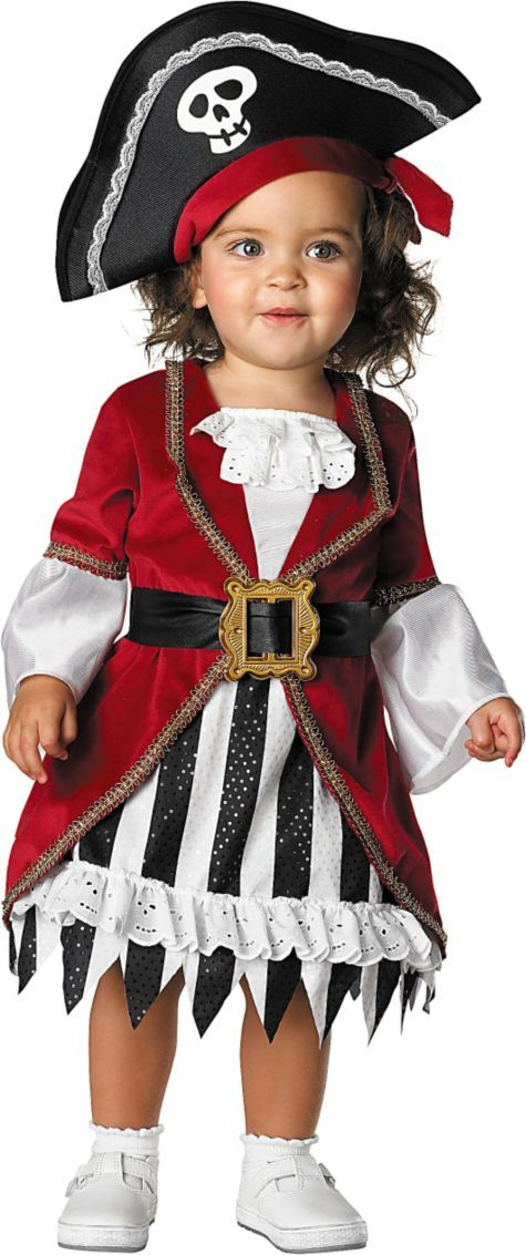 Baby Princess Pirate Costume - Baby Girl Costumes - Infant, Baby Costumes - Baby, Toddler Costumes - Halloween Costumes - Categories - Party City