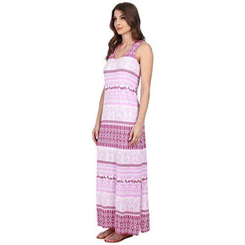 (モドオードック) Mod-o-doc レディース ドレス マキシドレス Cotton Modal Jersey Double Scoop-Neck Maxi Dress 並行輸入品  新品【取り寄せ商品のため、お届けまでに2週間前後かかります。】 カラー:Sachet 商品番号:ol-8589496-270710