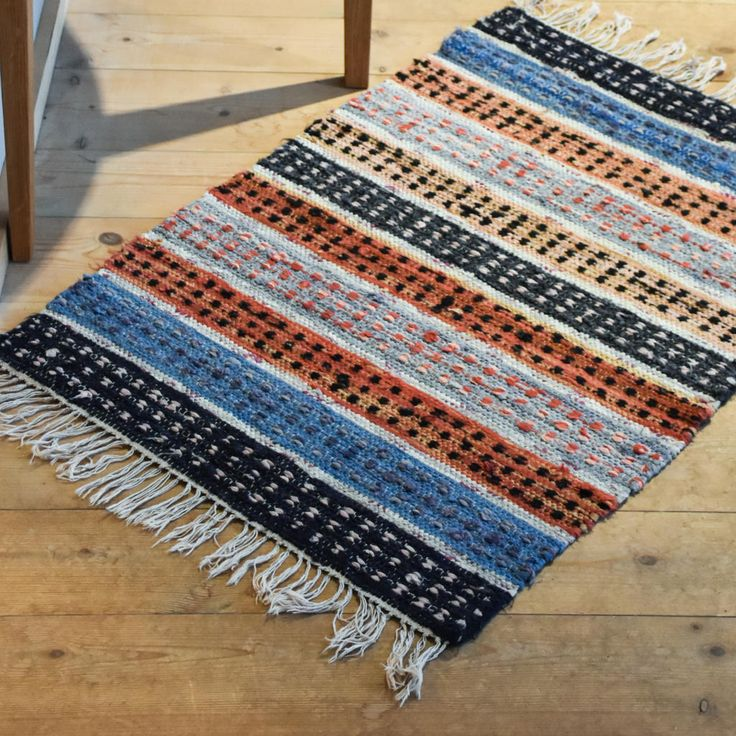 Swedish vintage rag rug 0617 - Rugs of Sweden
