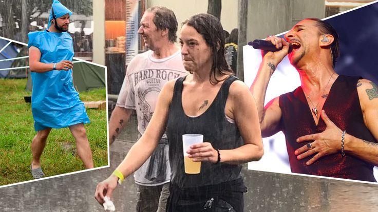 Unwetter sorgen beim Hurricane-Festival und weiteren Konzerten für Zwangspause - Musik - Bild.de