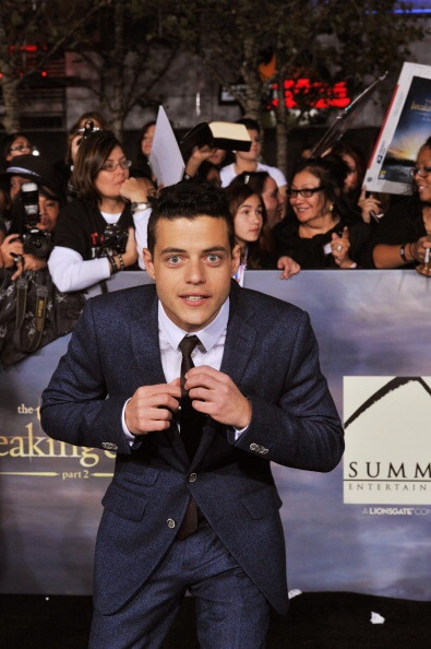 News Photo: Actor Rami Malek arrives at The Twilight Saga…