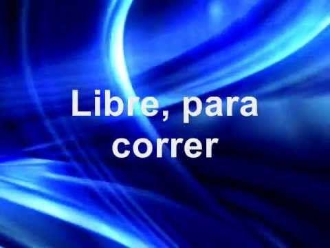 Libre Soy David Scarpeta con Letra Por ti los ciegos ven, los mudos cantaran en ti la vida está, por ti puedo cantar la oscuridad se va, por ti puedo gritar ...