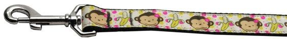 Mirage cat Products Monkeys and Bananas Nylon Ribbon Collars with 1-Inch by 4-Feet Leash for cats -- Hurry! Check out this great product : Cat Collar, Harness and Leash