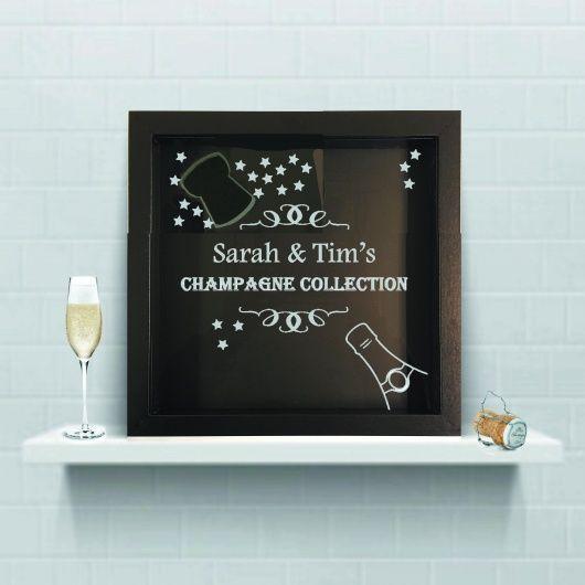 Champagne Cork Collection Box
