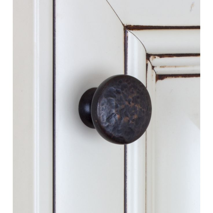 GlideRite 1.25 inch Oil Rubbed Bronze Round Hammered Finish Cabinet Knobs (Pack of 10) - Overstock™ Shopping - Big Discounts on GlideRite Cabinet Hardware