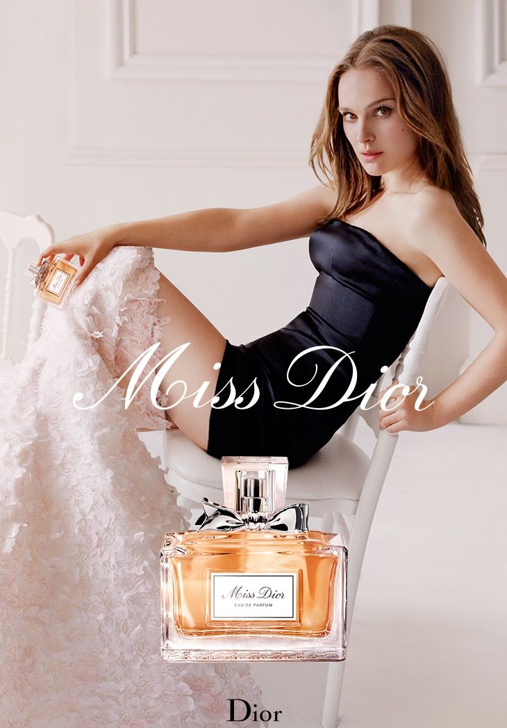 Natalie Portman in 2015 Miss Dior Fragrance Advertisement