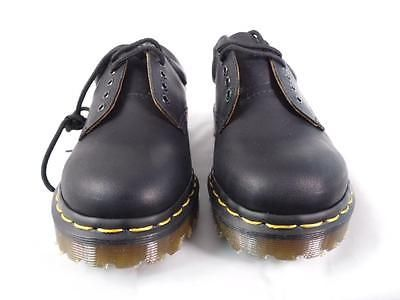 DR MARTENS 8053 GAUCHO BLACK LEATHER PADDED COLLAR GIBSON MIE ENGLAND 5 EYE UK 4