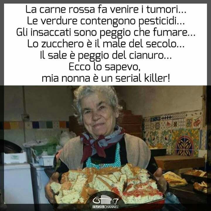 La mia nonna è un serial killer ...