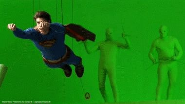 Go behind the scenes to see how green screens revolutionize film (28 Photos)