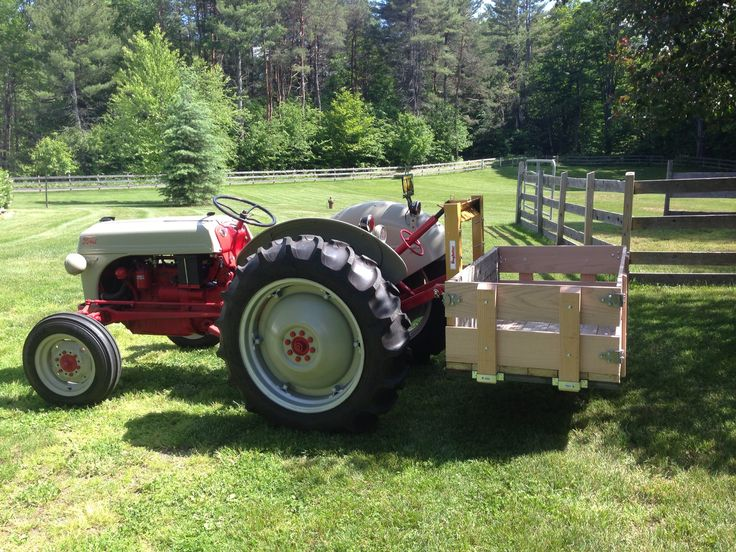 Ford 8n Tractor Attachments : Best images about ford tractors and equipment on