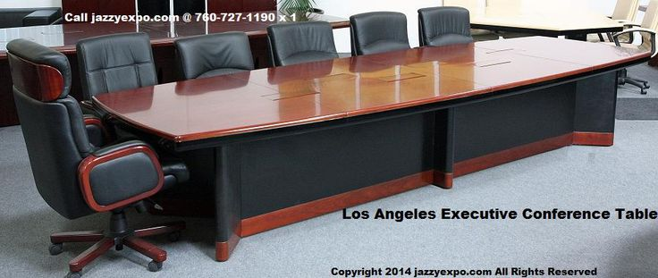Executive Conference Table   Los Angeles Model   Side View   See That There  Is A Lot Of Leg Room | Pinterest | Round Conference Table