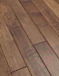 Hickory hardwood flooring.  Love the color.  Dark, but not too dark.
