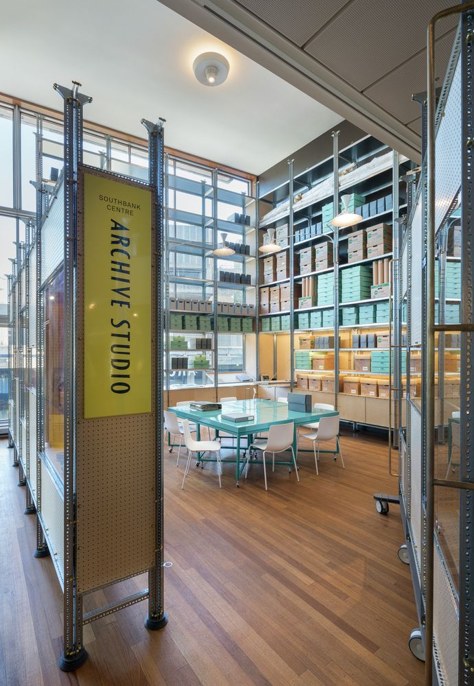 Gallery - Installation at London's Southbank Centre Opens Archive to the Public - 3