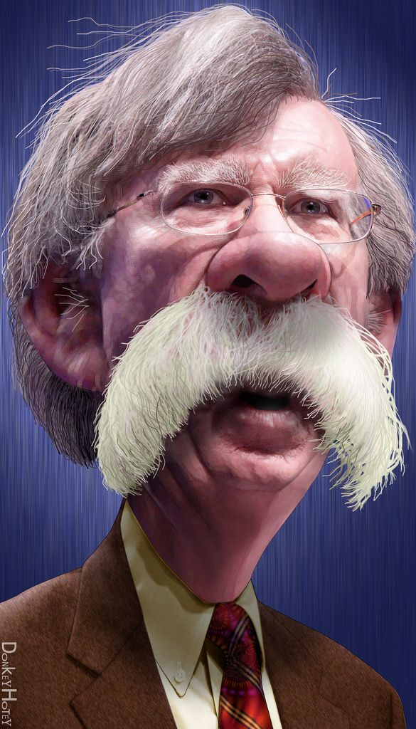 John Bolton - Caricature | by DonkeyHotey