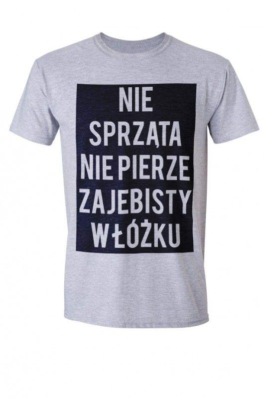 moda - t-shirty - męskie-ZAJEBISTY - Koszulka Męska T-shirt