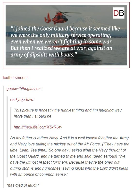 The Coast Guard is the Best Guard