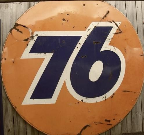 Old 76 Gas Station Signs