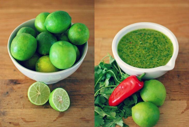 Coriander Pesto with Chilli