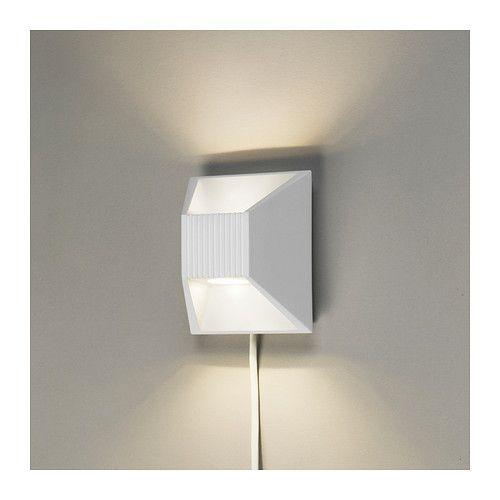 VIKT LED vägglampa IKEA