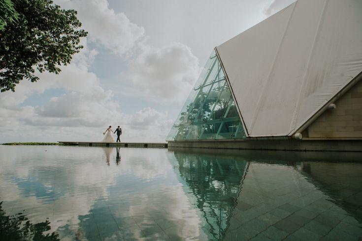 Ocean Cliff Wedding of Stanley & Wakana