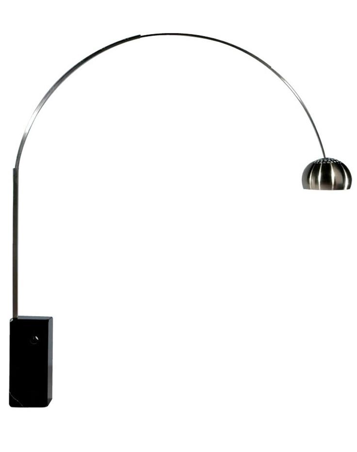 Replica Achille Castiglioni Arco Lamp by Achille Castiglioni - Matt Blatt