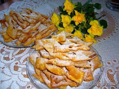 Kulinarne szaleństwa Margarytki: Chruściki vel faworki