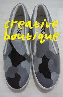 Painting shoes Army pattern Only 125k-135k