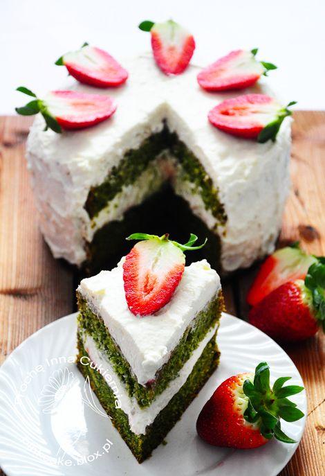 Nettle cake Tort pokrzywowy