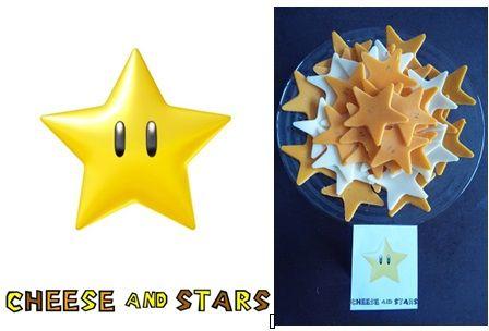 repas anniversaire enfant mario kart : étoiles fromages