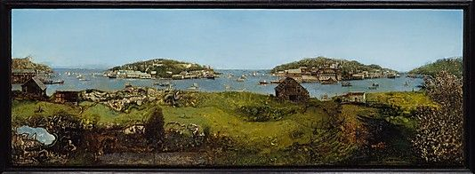 Landscape with Islands and Sky Gregory Gillespie