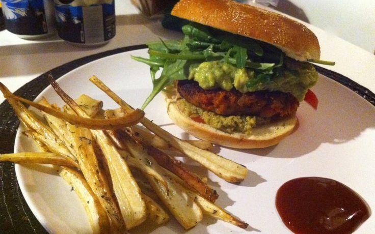 sundried tomatoes burger