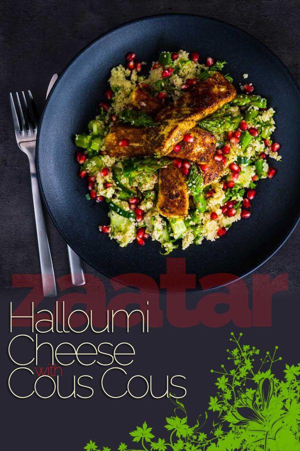 Zaatar Halloumi Cheese Recipe Best Vegetarian Recipes Halloumi Vegetarian Vegan Recipes