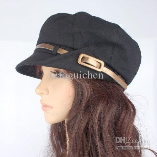 Wholesale Newsboy Hats - Buy Gold Cap Newsboy Cap Fashion Women's Casual Hat Gentlewomen Cap Women's Beret, $21.83   DHgate