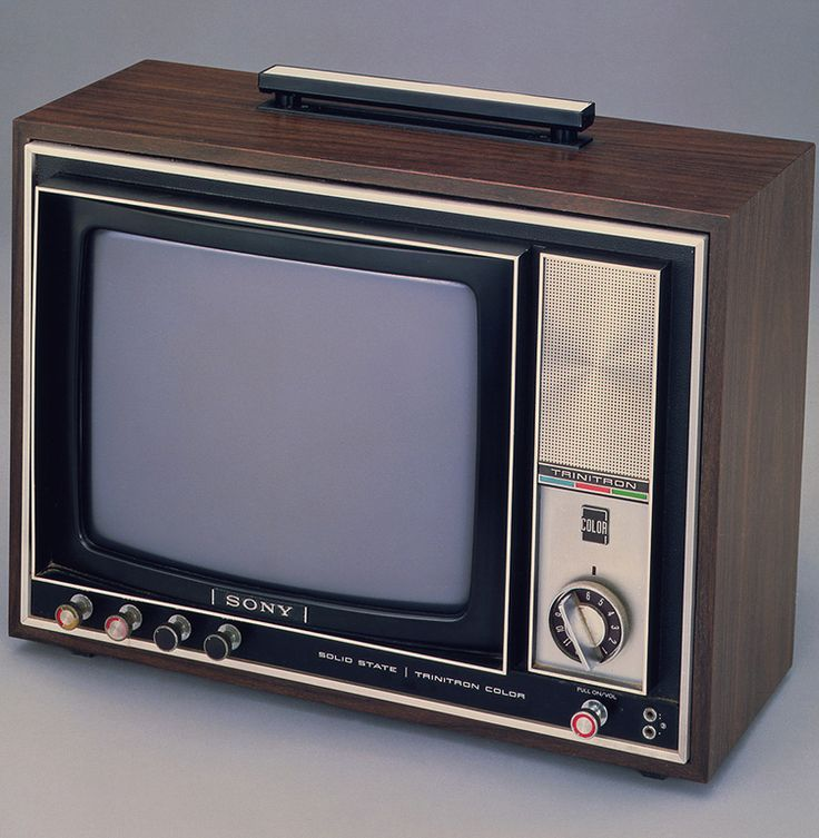 Released in Japan in 1968, the KV-1310 was the first of Sony's line of Trinitron…