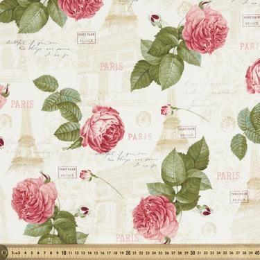 La Vie En Rose All Over Fabric