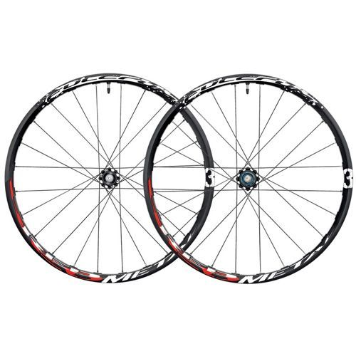 """If you are the proud owner of a 26"""" mountain bike and have been looking for a set of wheels to upgrade and rejuvenate your rig, these beauties from Fulcrum could well do the trick. Weighing just 1685g, Red metal 3s will tackle any climb while the sturdy tubeless rim, oversize hub and the steel straight-head spokes guarantee easy steering, high maneuverability and maximum reliability however hard you ride"""