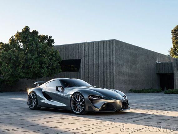 Exceptional Вторая версия концепта Тойота FT 1 / Toyota FT 1 Images