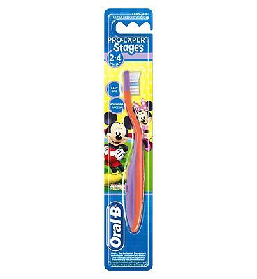 Oral B Stage 2 Pooh Bear Manual Toothbrush 8 Advantage card points. Oral-B Stage 2 Manual Toothbrush is designed for children aged 2-4 years with a cushioned head and extra soft bristles with Power Tip. FREE Delivery on orders over 45 GBP. http://www.MightGet.com/february-2017-1/oral-b-stage-2-pooh-bear-manual-toothbrush.asp