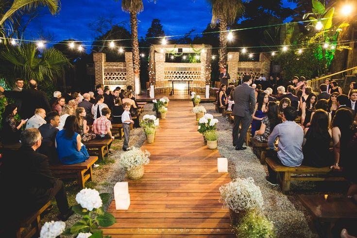 Casamento noturno ao ar livre – Renata