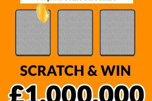 Odds of winning on scratch cards