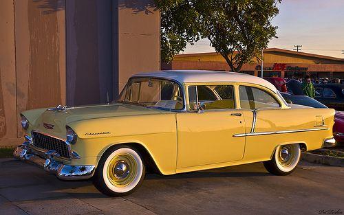 1955 Chevrolet 210 Delray Club Coupe Bowtie Pinterest