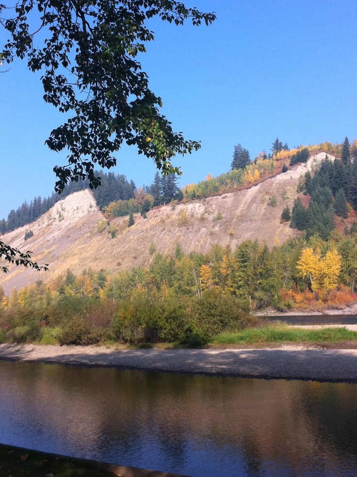 Prince George, British Columbia. I totally climbed those with my dad when I was like 11