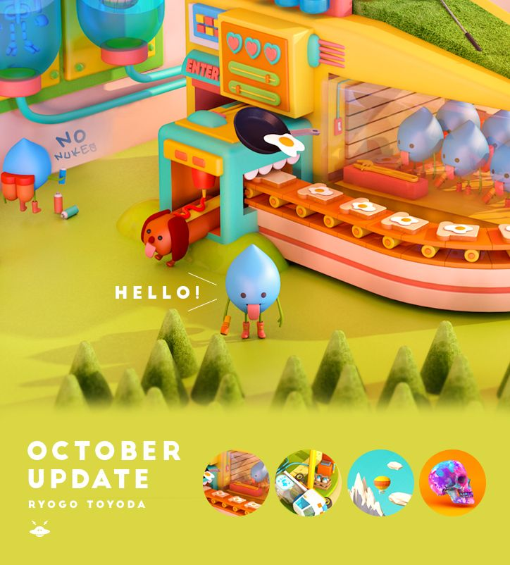 https://www.behance.net/gallery/20756593/October-Update